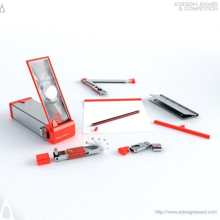 Office On The Go (Stationary Kit Design)