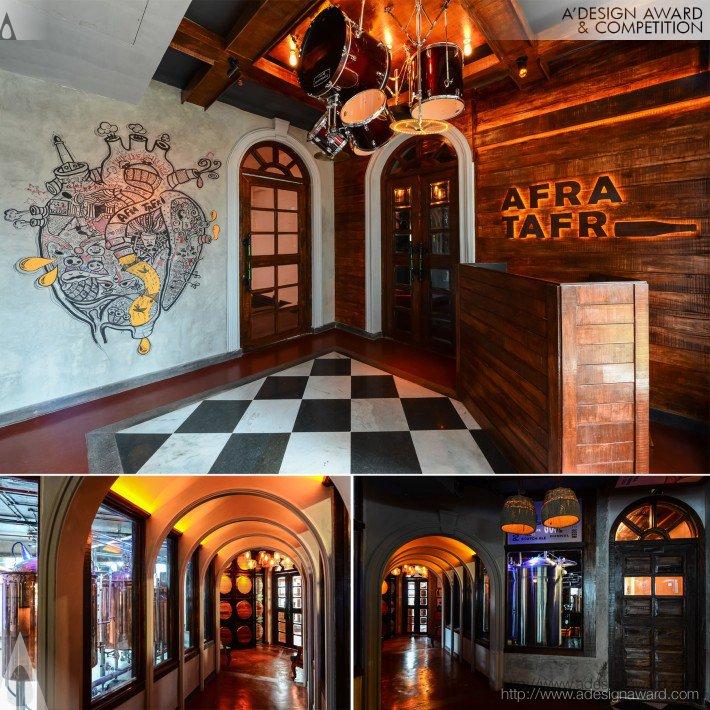 Afra Tafri (Restaurant and Bar Design)