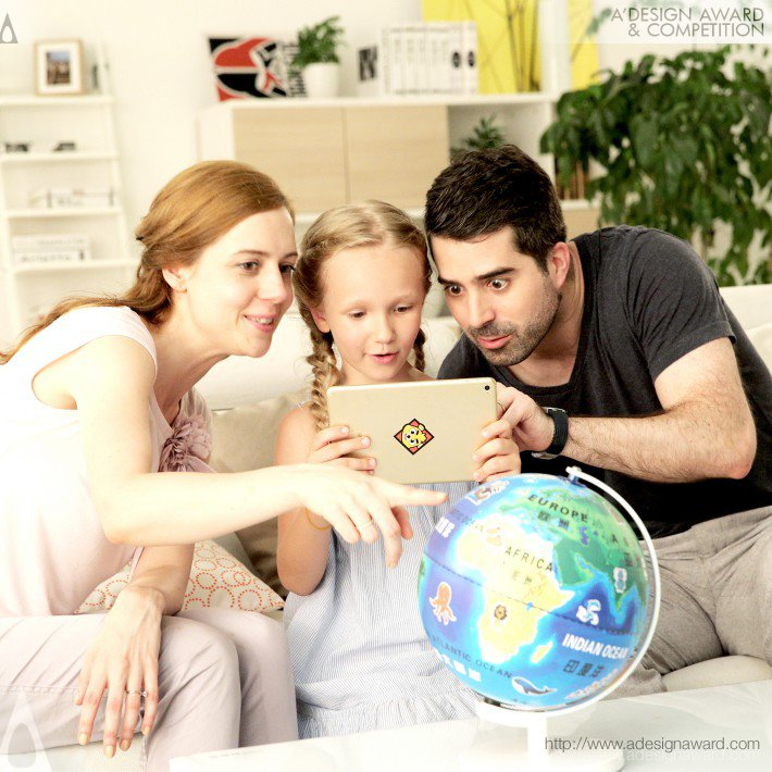 Ar Globe (Educational Toy Design)