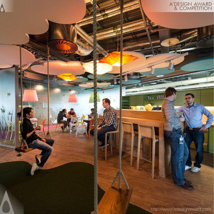 Google Campus Dublin (Office Interior Design Design)