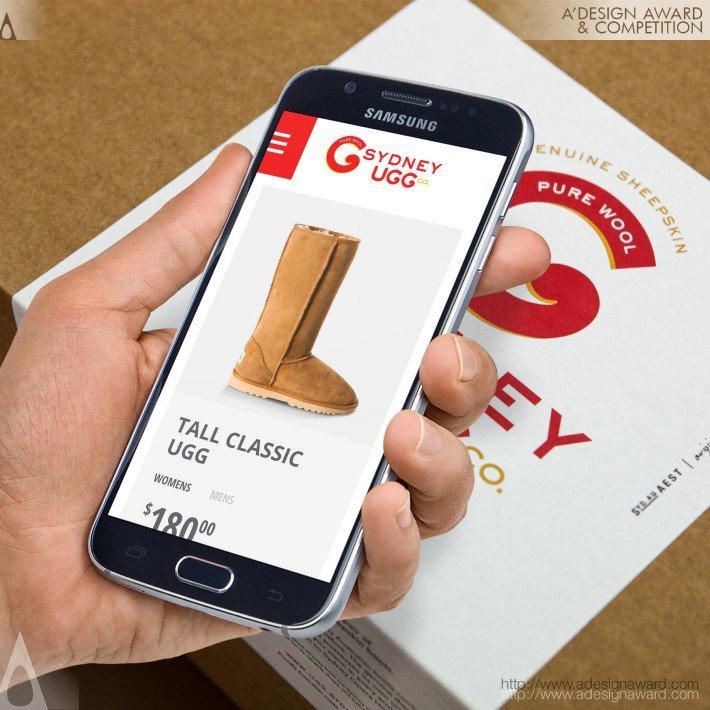 Sydney Ugg (Ecommerce Website Design)