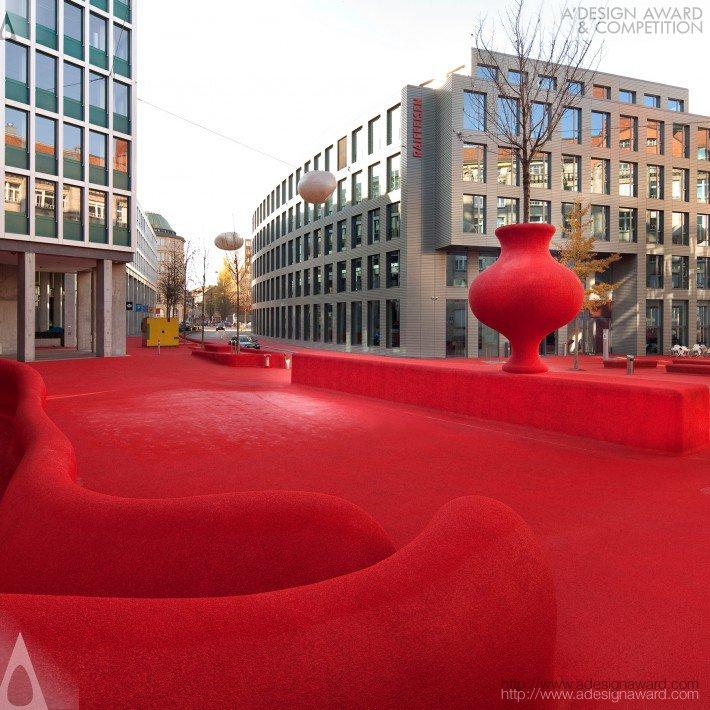 City Lounge, St. Gallen (Urban Living Room Design)