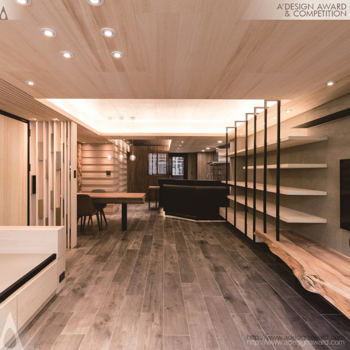 Spirit Concentration House Interior Design by TienyuWu