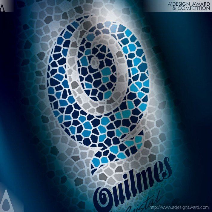 Quilmes Metal Bottle (A Beer Packaging Design Design)