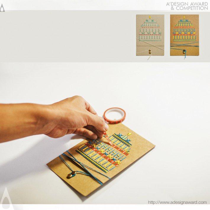 Stitching Gifts Diy (Card Design)