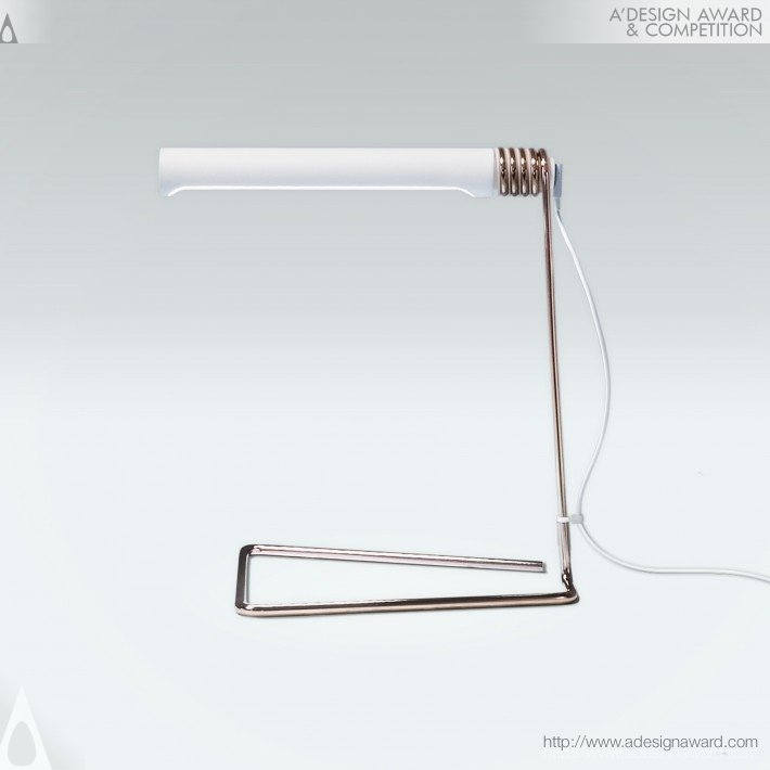 Coil Lamp (Desk Light Design)