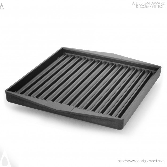 Mipan (Grill Pan Cooking Surface Design)