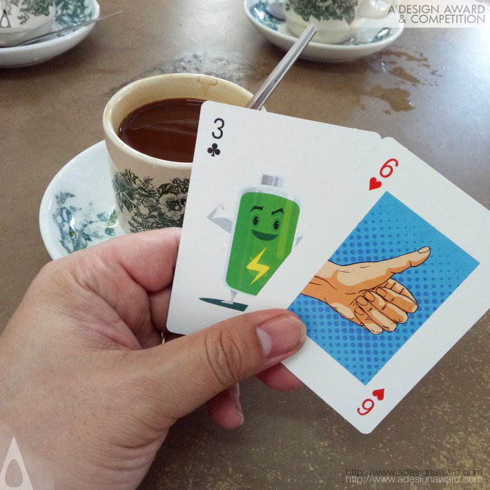 Totally Random Talking Cards (Visual Story Telling Playing Cards Design)