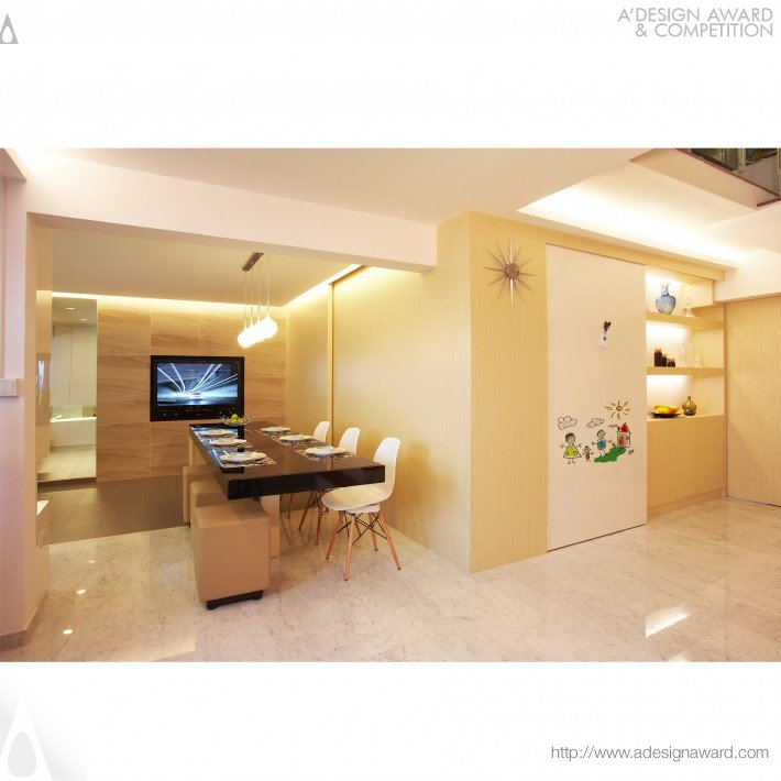 Contemporary Mansionette Residential (Interior Space Design)
