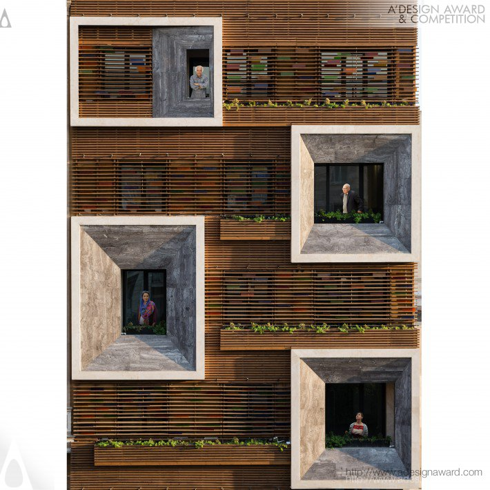 Apartment Design Competition orsi khaneh residential apartment