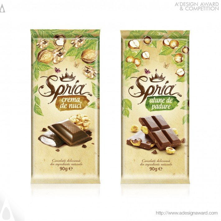 Ampro Design - Spria Chocolate Range of Chocolate Tablets