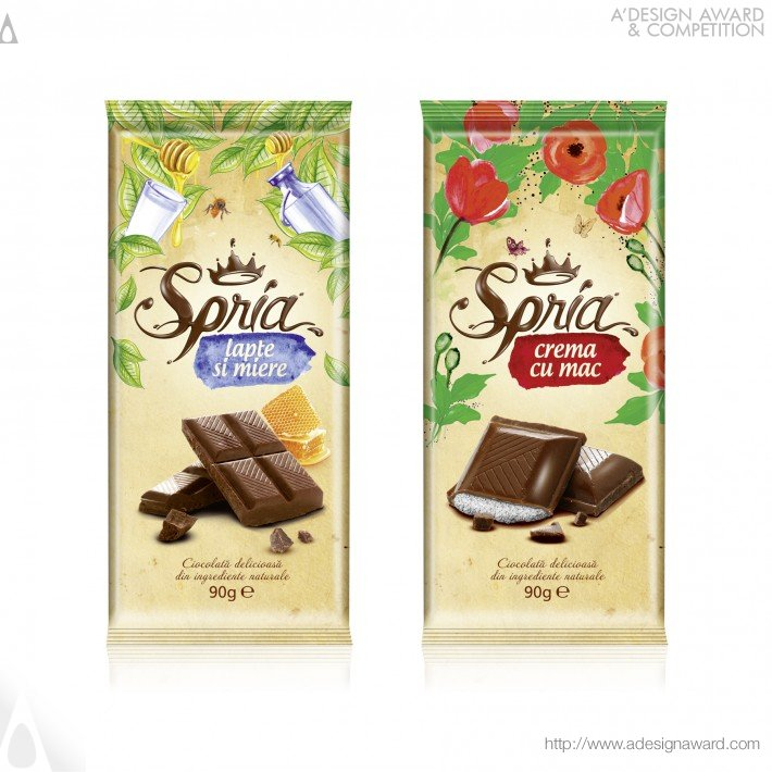 Spria Chocolate by Ampro Design
