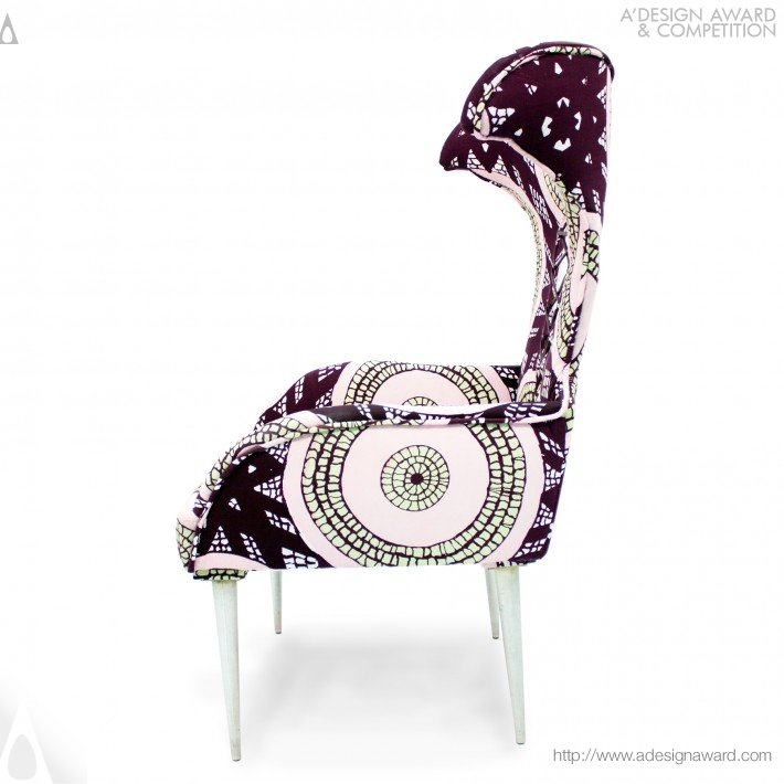 Xin Wen - Victoria Ii Wing Back Chair
