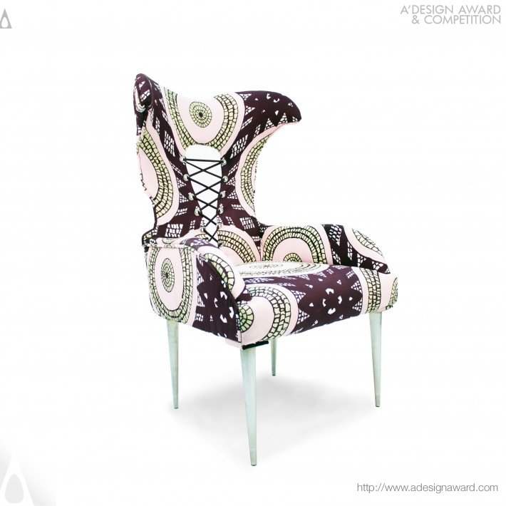 Victoria Ii Wing Back Chair by Xin Wen