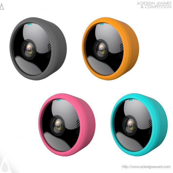 Motorola Focus 1000 Camera – by Binatone (Portable Wi-Fi Ip Camera Design)