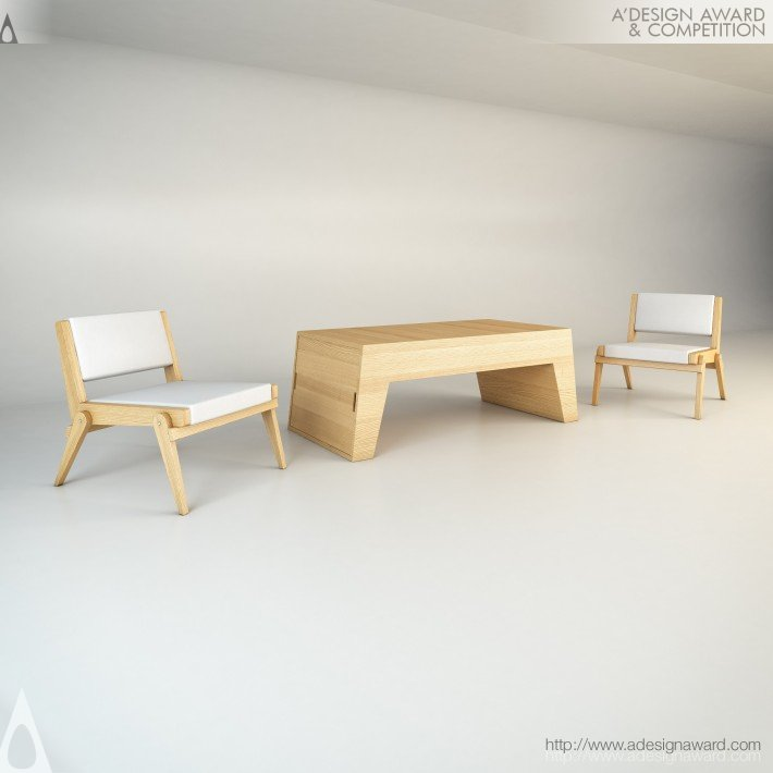 Twins (Transformable Coffee/Lounge Chairs Design)