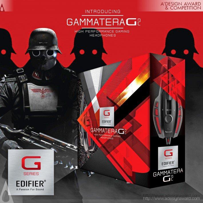 Gammatera G2 (Gaming Headphones Design)
