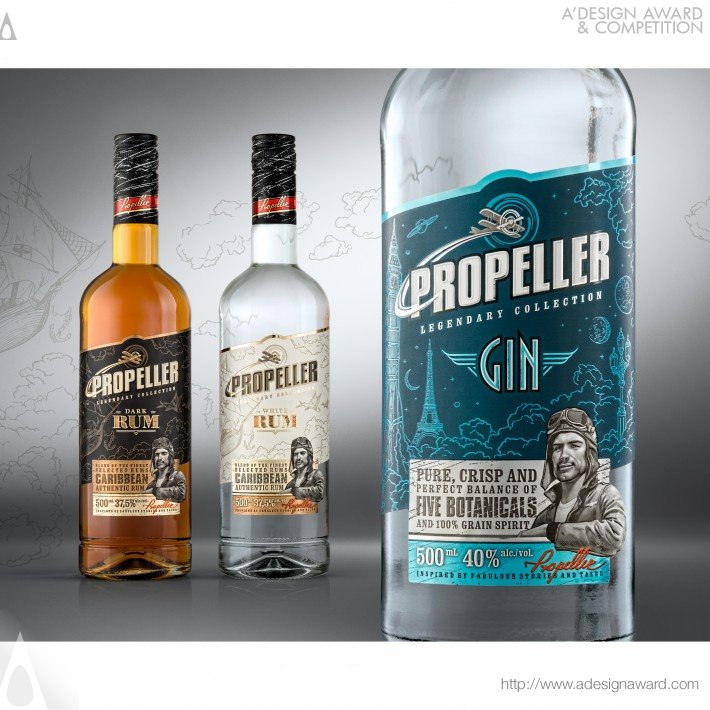 Propeller (Labels Design)