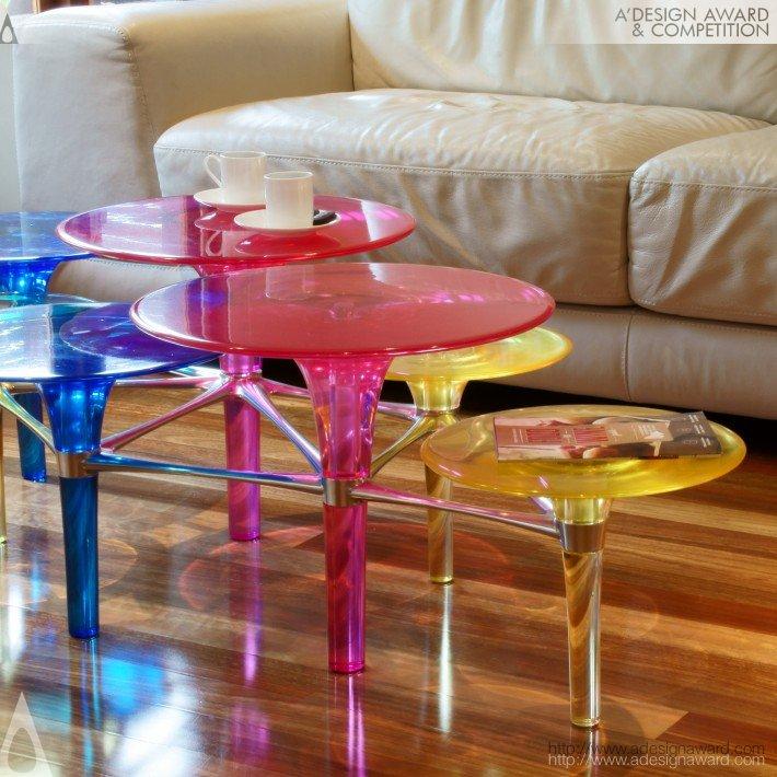 Disco-Volante (Coffee Table Design)