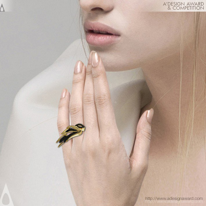 Amelia Rachim - Garuda Collection Ring, Earrings