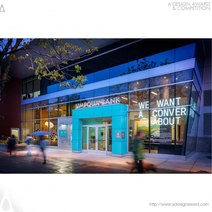 McCall Design Group Architectural Corporation - Umpqua Bank South Lake Union Retail Store