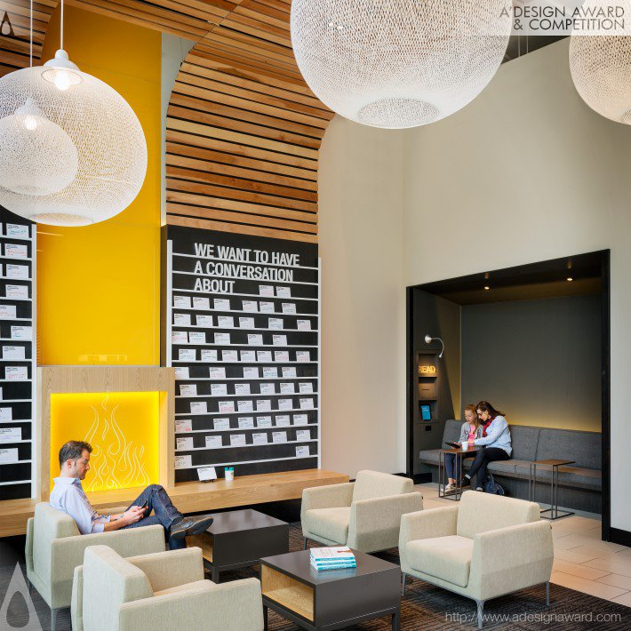 Umpqua Bank South Lake Union Retail Store by McCall Design Group Architectural Corporation