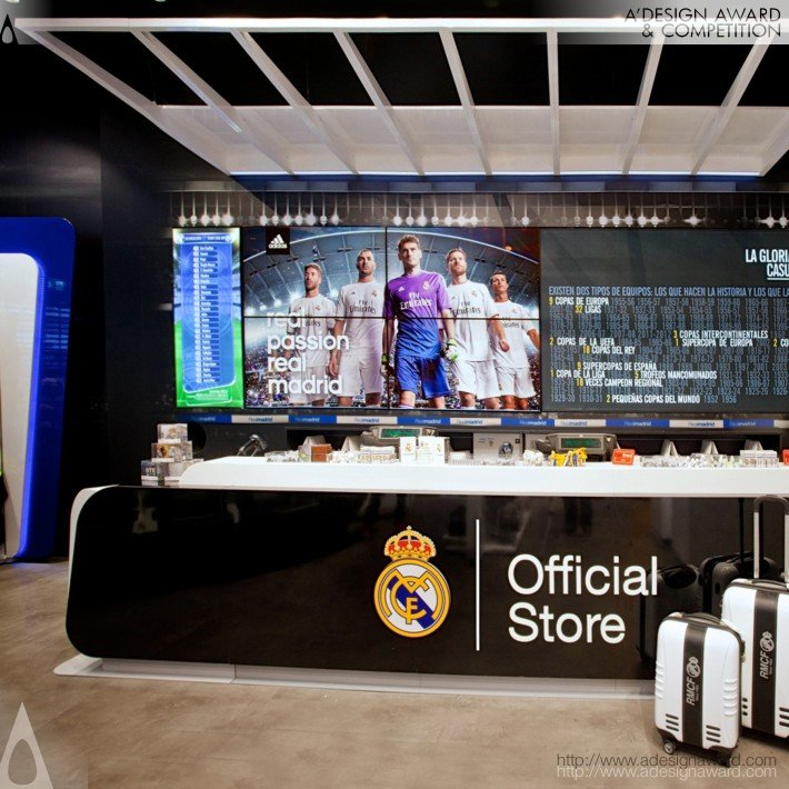 Real Madrid Official Store (Official Store, Retail Design)