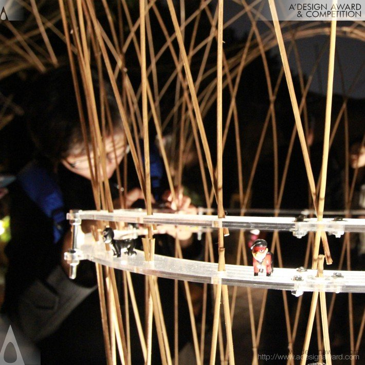 Lightscape Pavilion (Art Installation Design)