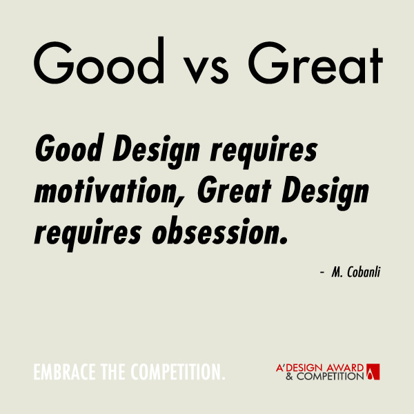 Obsessive Quotes Motivational: A' Design Award And Competition