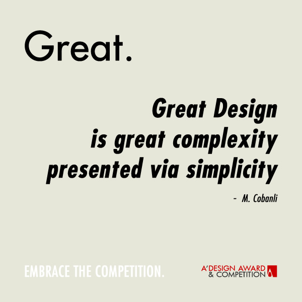 Great Graphic Design Quotes: A' Design Award And Competition