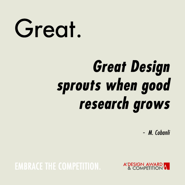 Quotes On Research Entrancing A' Design Award And Competition  Design Quotes